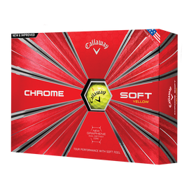 Callaway Chrome Soft Yellow 1