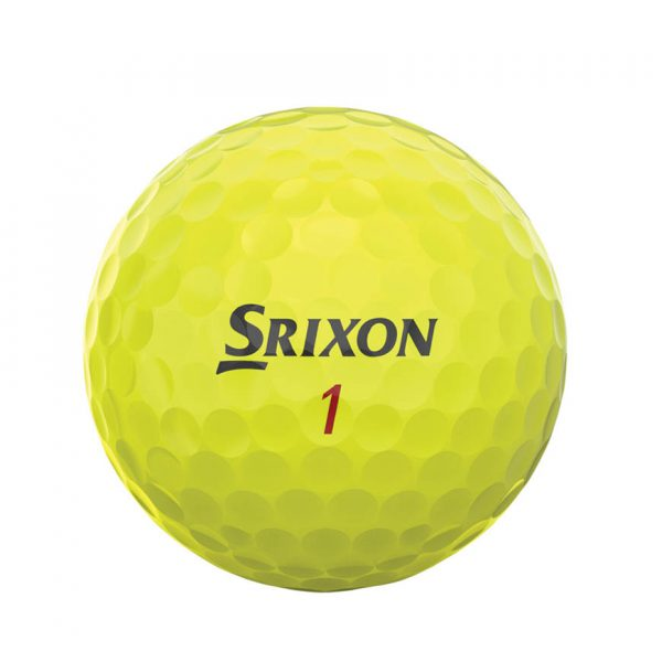 Srixon Z-Star XV Yellow 3