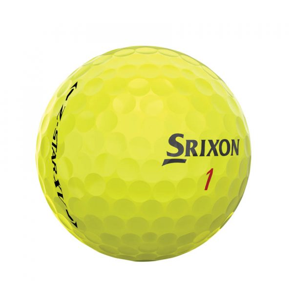 Srixon Z-Star XV Yellow 4