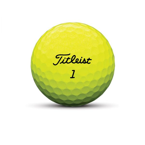 Titleist Tour Soft Yellow 3