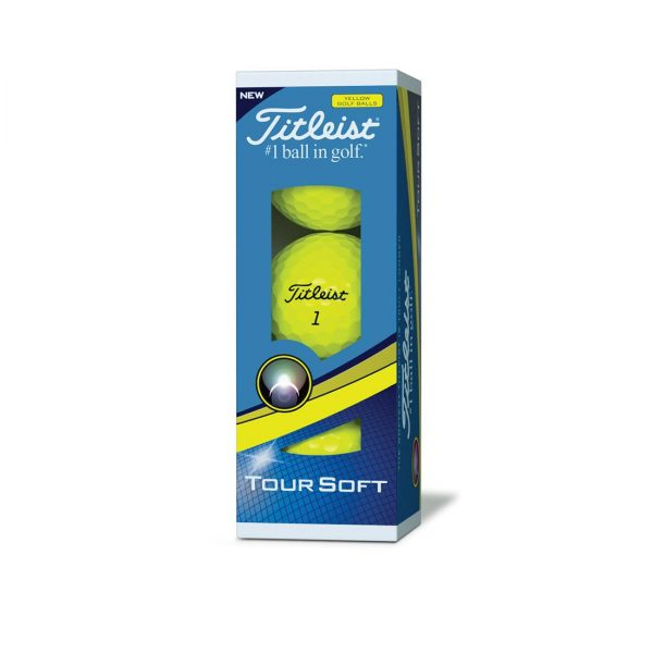 Titleist Tour Soft Yellow 2