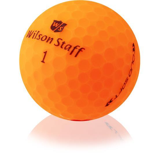 Wilson Staff Duo Optix (Orange) 4