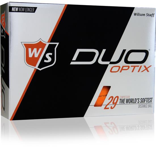 Wilson Staff Duo Optix (Orange) 1