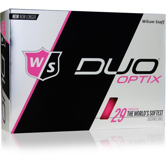 Wilson Staff Duo Optix (Pink) 1