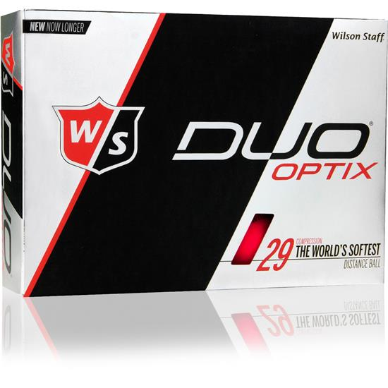 Wilson Staff Duo Optix (Red) 1